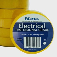 Nitto Electrical Tape 21 TRANSPARENT Single Roll