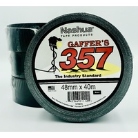 Nashua 357 Gaffer Tape BLACK 48mm